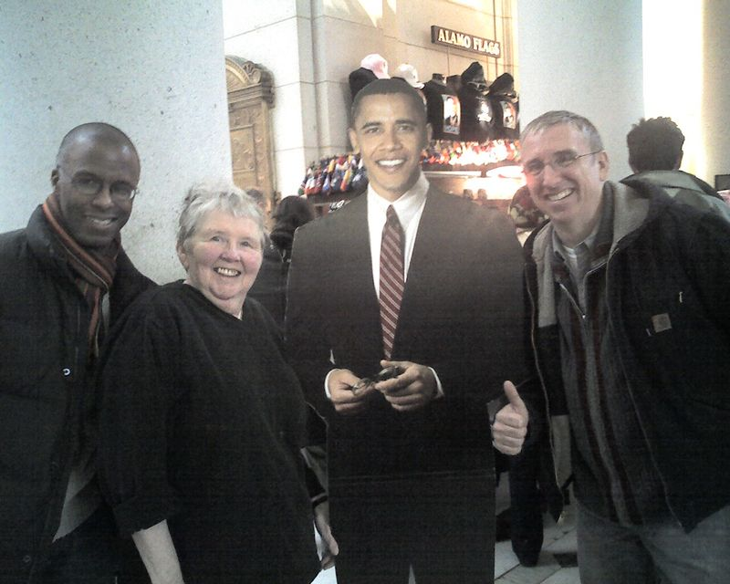 Hanging with Obama